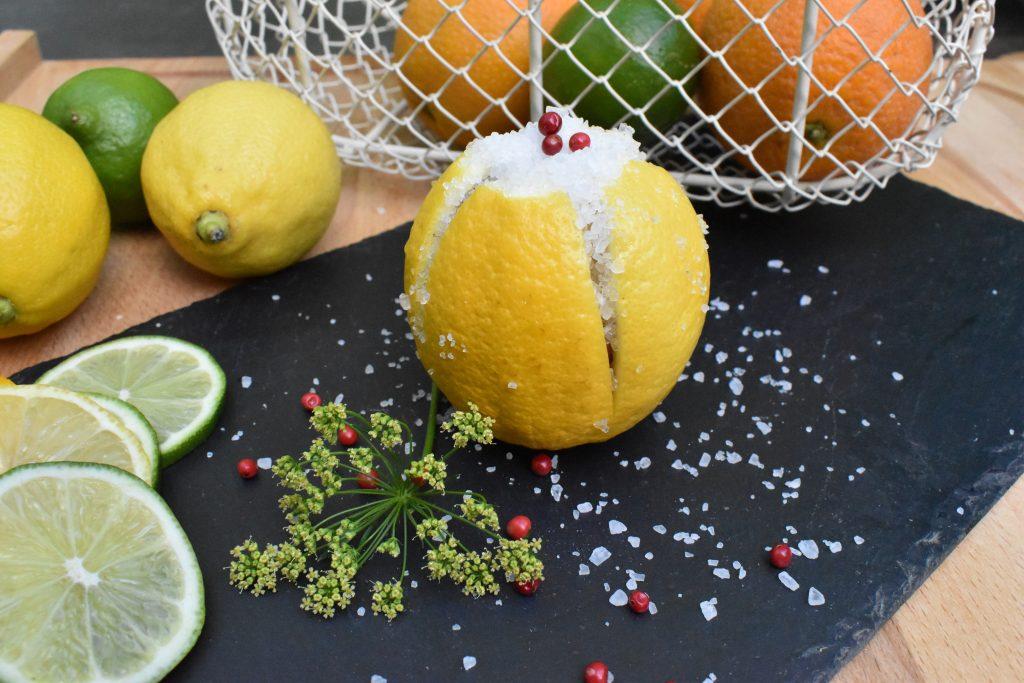 citrons confit au sel par l'Académie de la fermentation