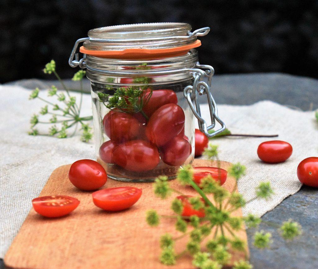 tomates lactofermentées