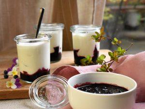 yaourt myrtille de l'Académie de la fermentation