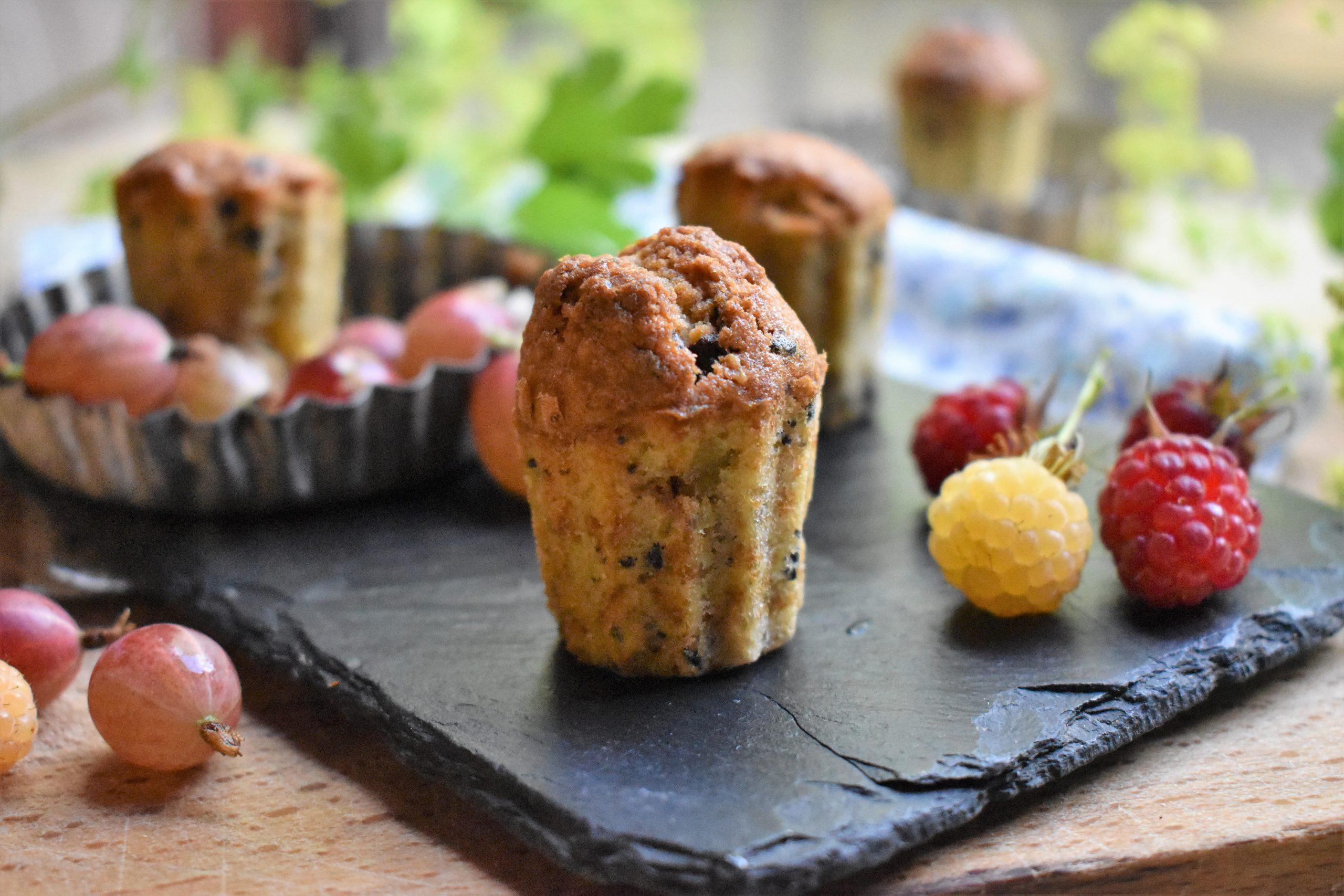 Cake au levain, chicorée et chocolat