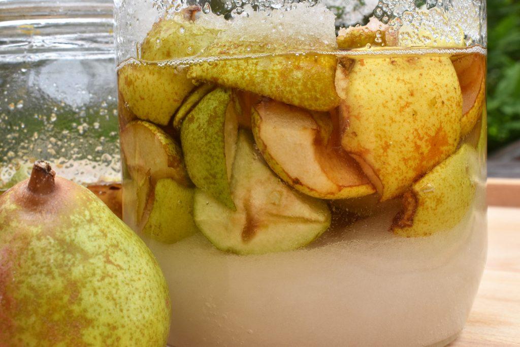 cheong de poire par l'académie de la fermentation