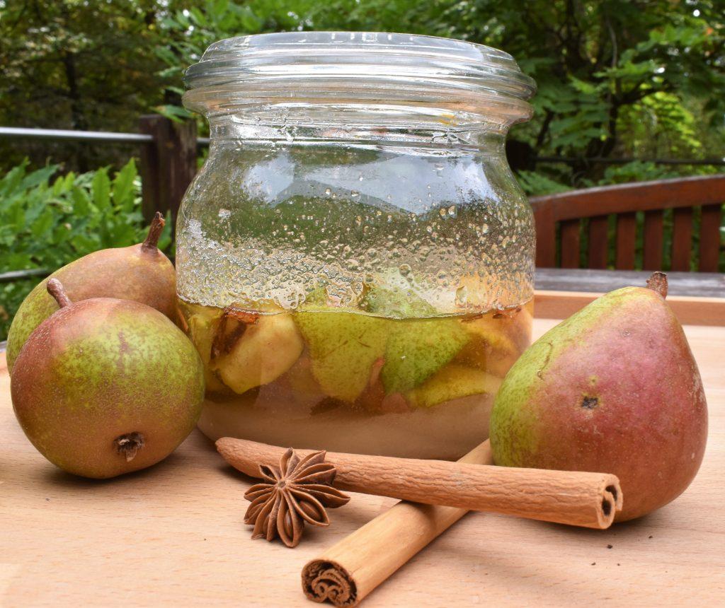 Cheong de poire de l'Académie de la fermentation