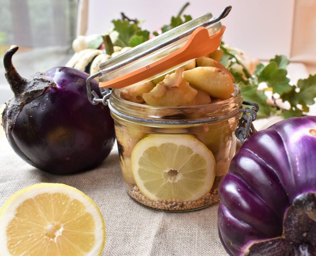 caviar d'aubergine par l'académie de la fermentation