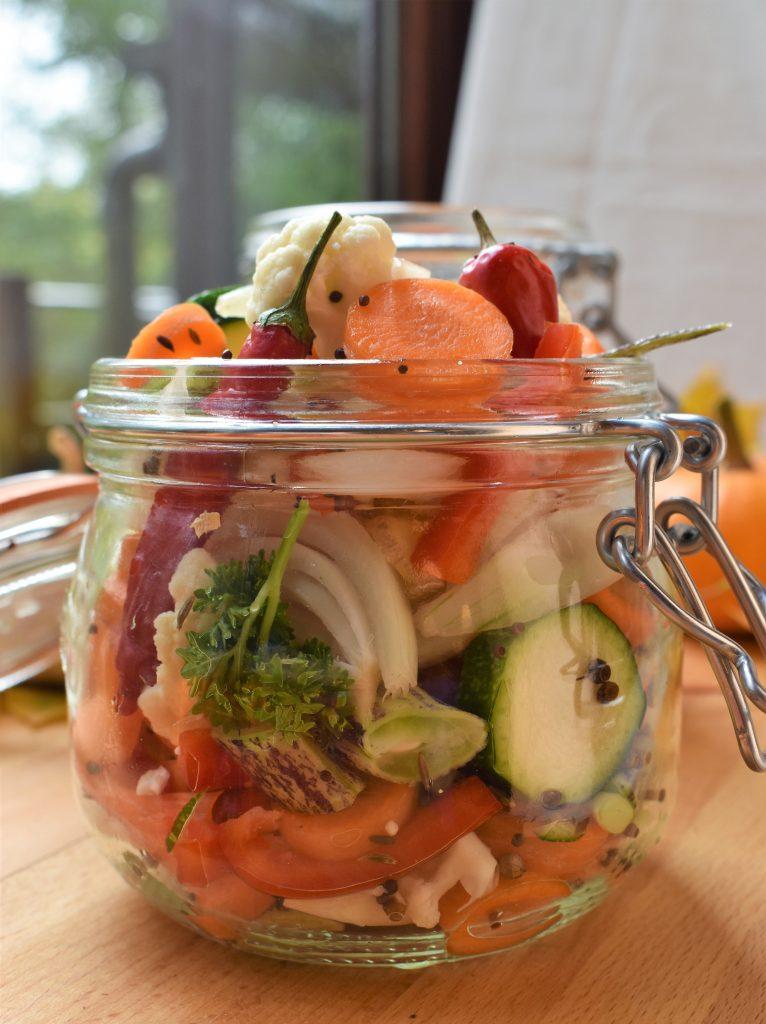 pickels de légumes par l'académie de la fermentation