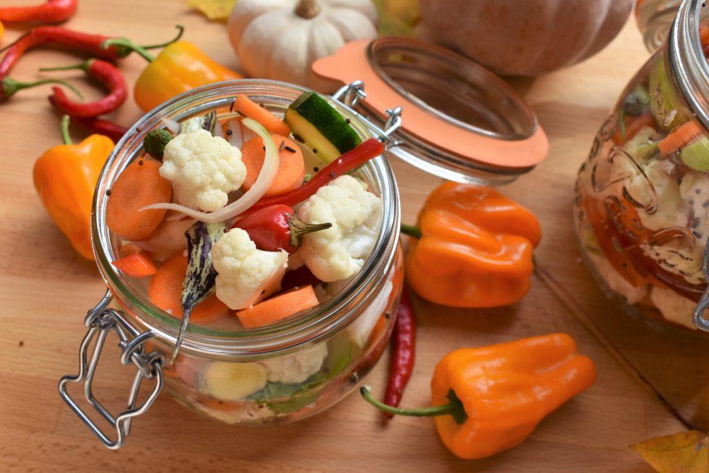 légumes lactofermentés par l'Académie de la fermentation