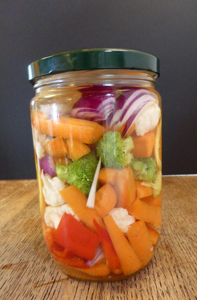 pickels de légumes d'hiver par l'Académie de la Fermentation