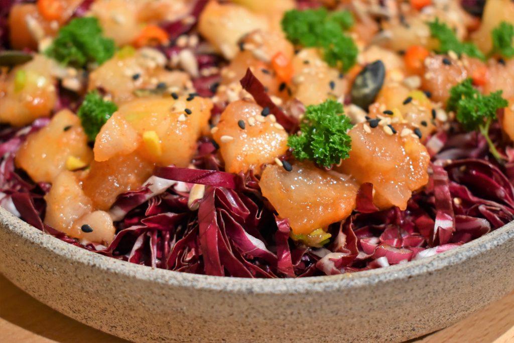 salade healthy pour enrichir sa flore intestinale par l'Académie de la fermentation