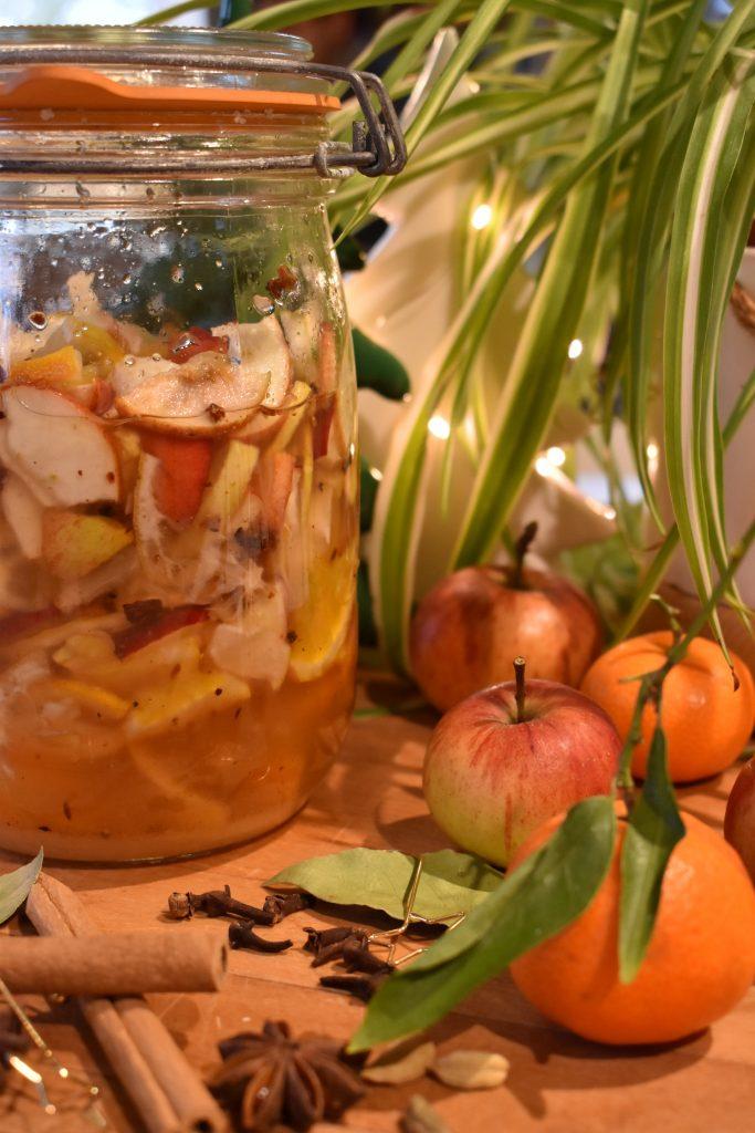 sirop de fruits fermenté aux épices