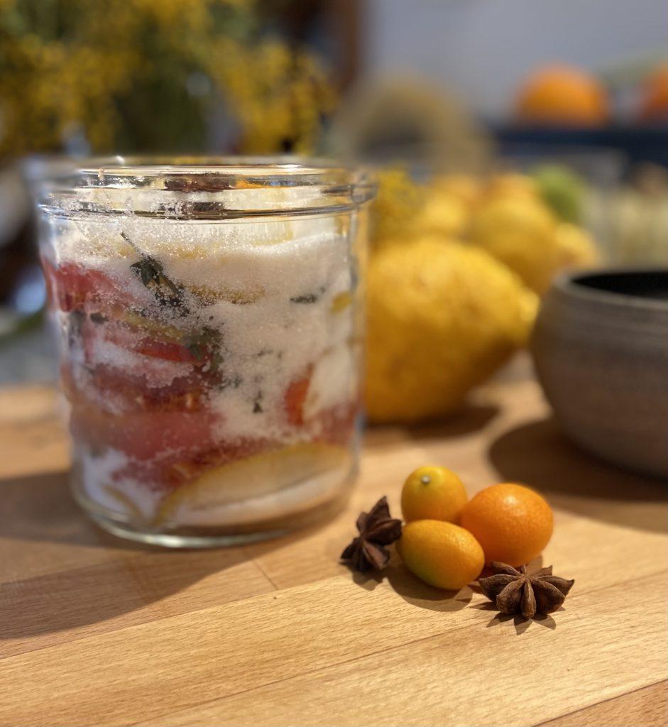 Koso, sirop de fruit fermenté